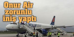Onur Air uçağı rahatsızlanan yolcu için zorunlu iniş yaptı