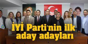 İYİ Parti'nin ilk aday adayları
