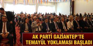AK Parti Gaziantep'te temayül yoklaması başladı