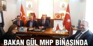 Bakan Gül MHP binasında