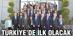 Türkiye'de ilk olacak