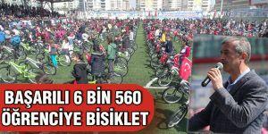 BAŞARILI 6 BİN 560 ÖĞRENCİYE BİSİKLET