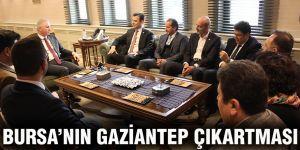 Bursa'nın Gaziantep çıkartması