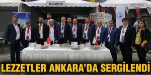 Lezzetler Ankara'da sergilendi