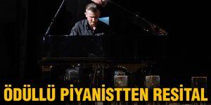 Ödüllü piyanistten resital