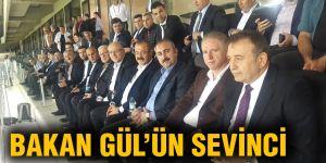 Bakan Gül'ün sevinci