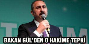 Bakan Gül'den o hakime tepki