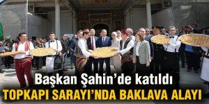 Başkan Şahin'de katıldı