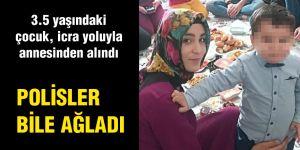 POLİSLER BİLE AĞLADI