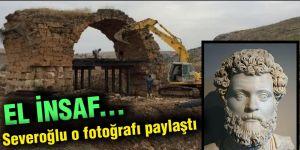 EL İNSAF... Severoğlu o fotoğrafı paylaştı