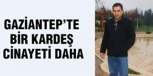 Gaziantep'te bir kardeş cinayeti daha
