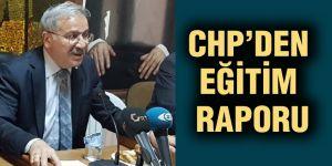 CHP'den eğitim raporu