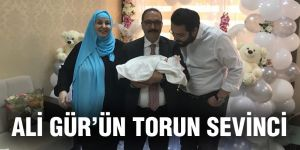 Ali Gür'ün torun sevinci