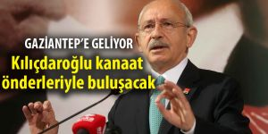 Kılıçdaroğlu kanaat önderleriyle buluşacak