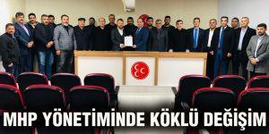MHP yönetiminde köklü değişim