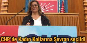 CHP'de Kadın Kollarına Şevran seçildi