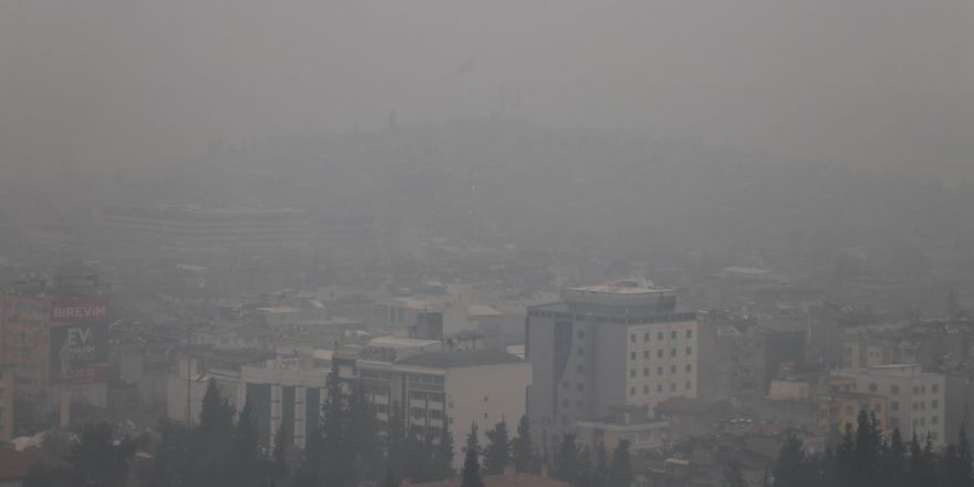 Gaziantep'te soğuk ve sisli hava hayatı olumsuz etkiledi