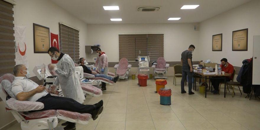 Kullanılmayan taziye evleri immün plazma bağış merkezine dönüştürüldü