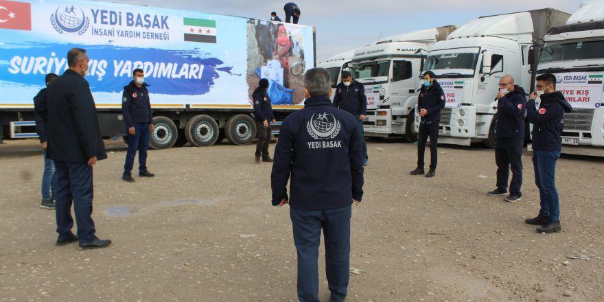 Suriyeli mağdurlara 200 ton kömür yardımı
