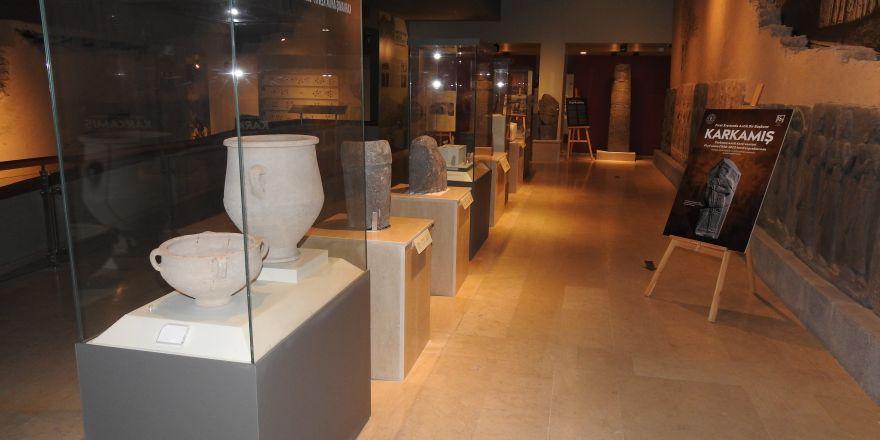 Karkamış Antik Kenti'nden kaçırılan eserler 91 yıl sonra anavatanlarına getirildi