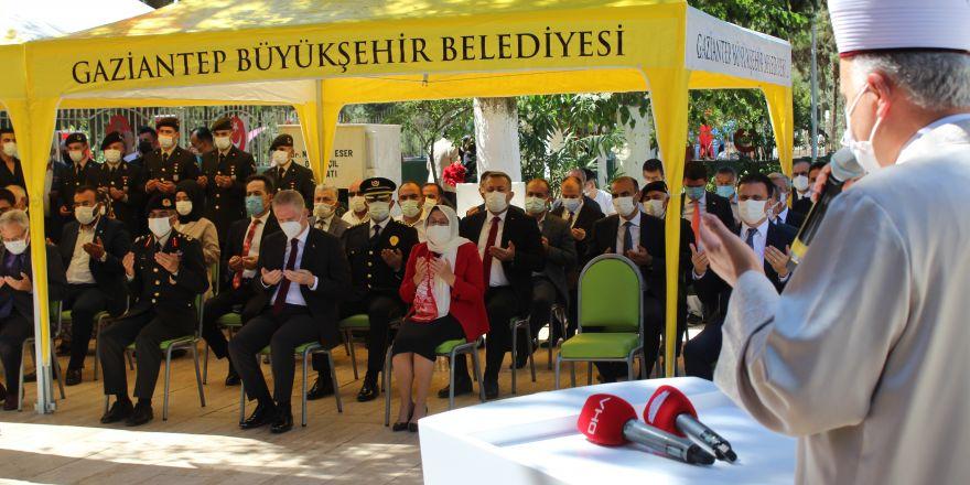 Gaziantep'te 15 Temmuz şehitleri anıldı