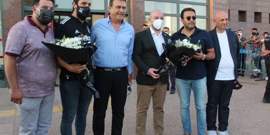 Beşiktaş kafilesi, Gaziantep'te
