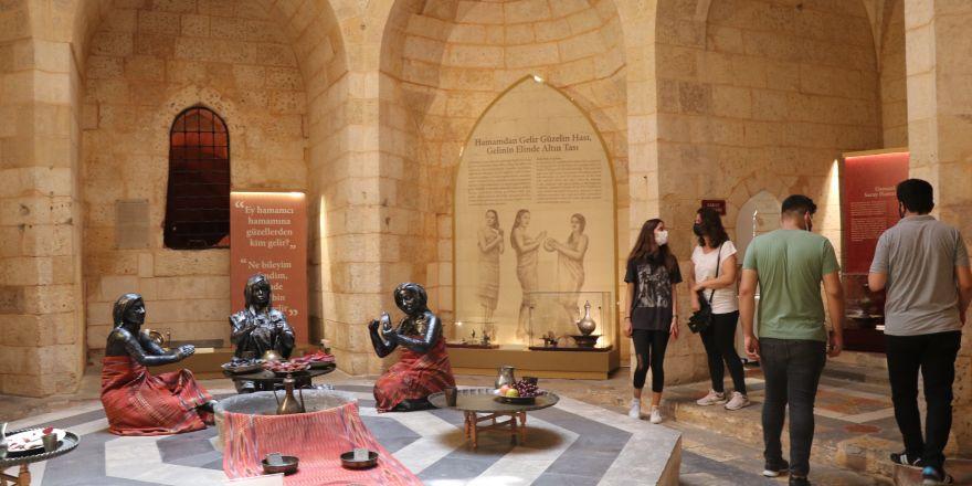 Türkülere konu olan Antep hamamları 'Hamam Müzesi'nde sergileniyor