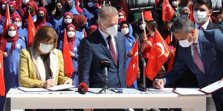 Gaziantep'te 35 bin öğrenci 'Akif' filmini izleyecek