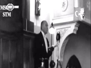 Atatürk'ün sesini hiç bu kadar net duymadınız....