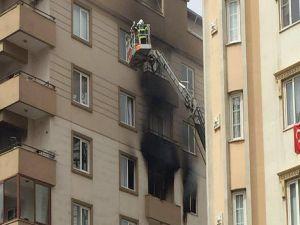 Gaziantep'te doğalgaz patlamasından ilk görüntüler