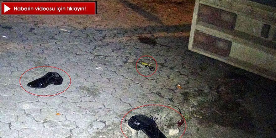 Evinin kapısı önünde silahlı saldırıya uğradı