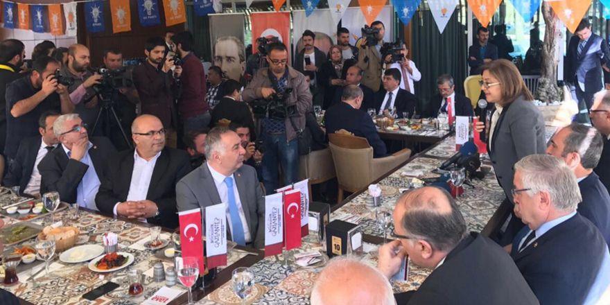 Gözleri Gaziantep'te