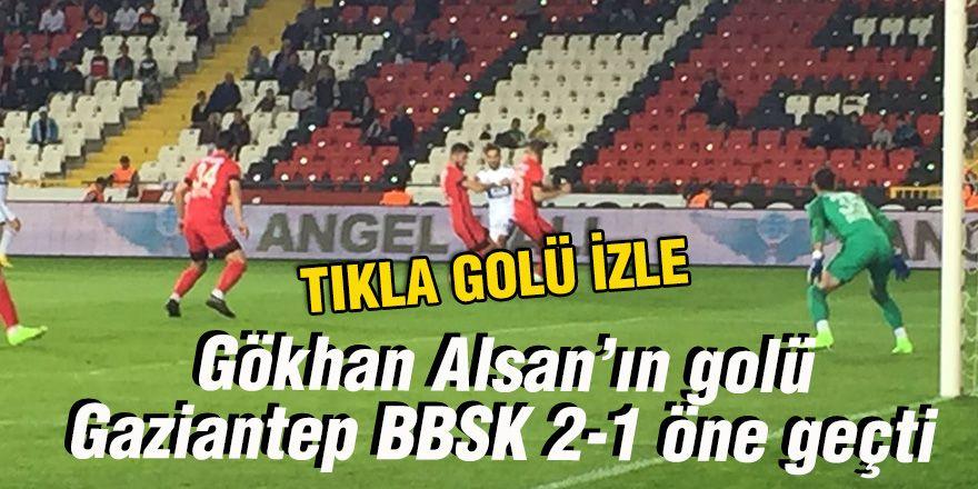 Gökhan Alsan'ın golü