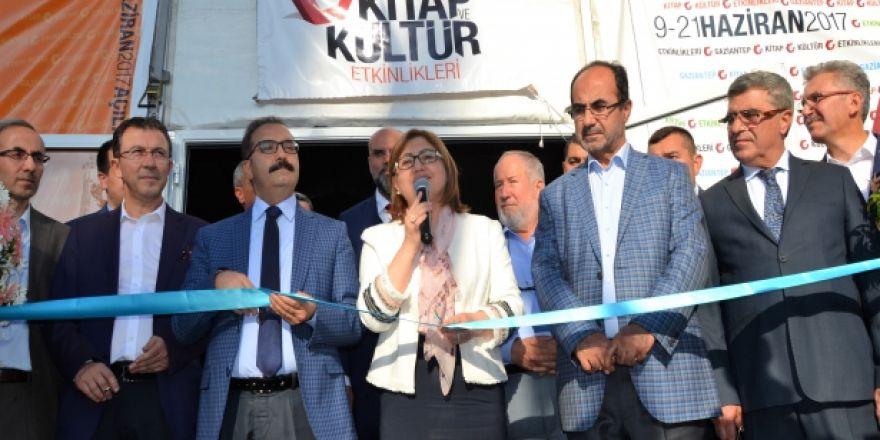 Gaziantep'te Kitap ve Kültür Fuarı açıldı