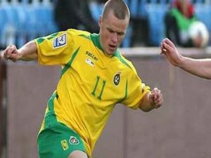 Gaziantepspor'un yeni transferi Darvydas Sernas
