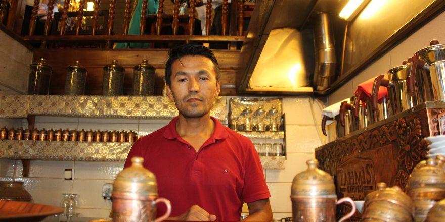 Afganistan'da polisti, Gaziantep'te kahve ustası oldu