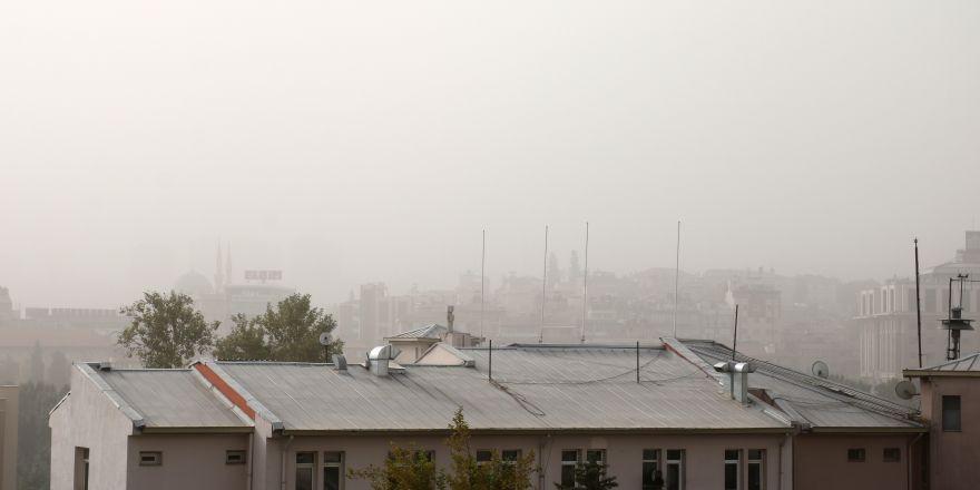 Toz bulutu hayatı olumsuz etkiledi