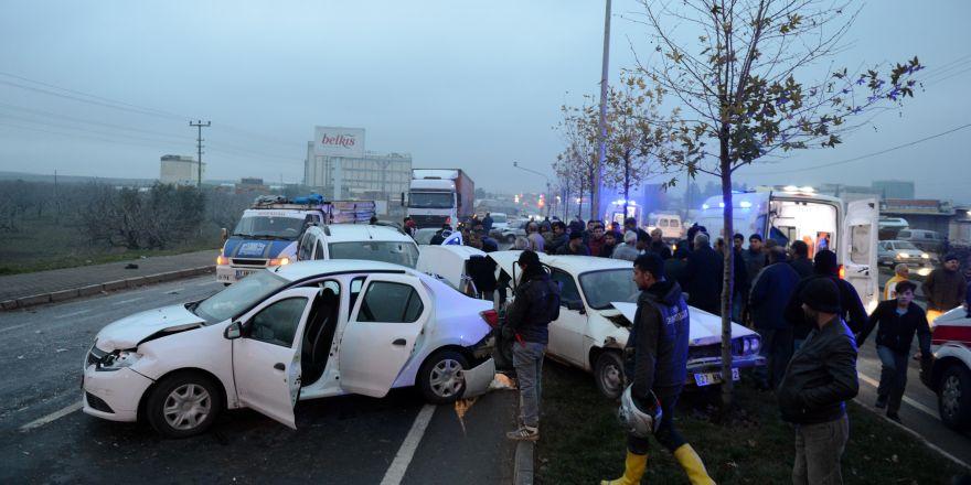 Feci kazadan yaralı kurtulan sürücü aracının üzüntüsünü yaşadı