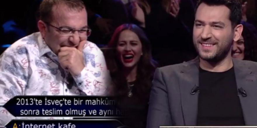 Gaziantepli yarışmacı gülmekten kırdı geçirdi