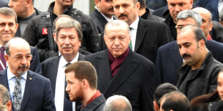 Gaziantep'te Cumhurbaşkanı Erdoğan'a sevgi seli
