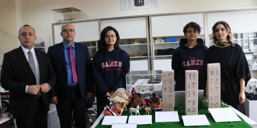 SANKO öğrencileri TÜBİTAK'ta dereceye giren projelerini tanıttı