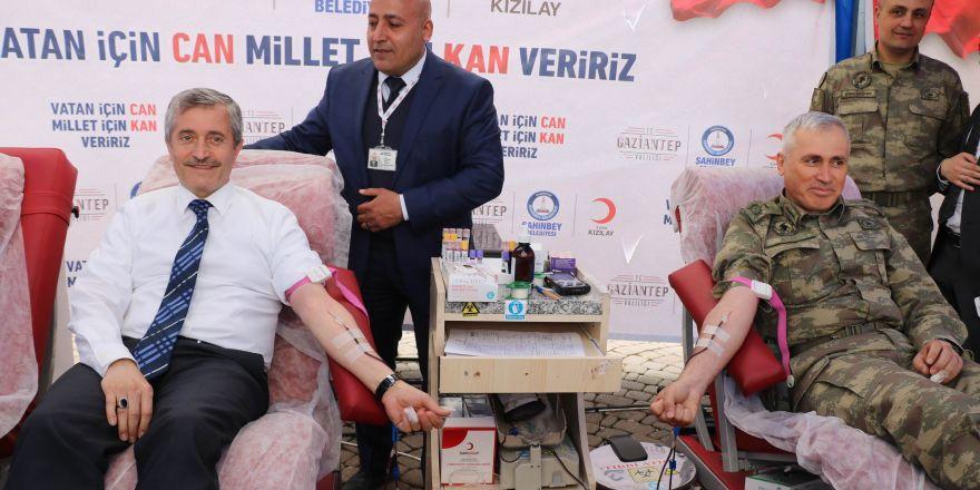 Gaziantep'te bir günde 2 bin 282 ünite kan bağışlandı