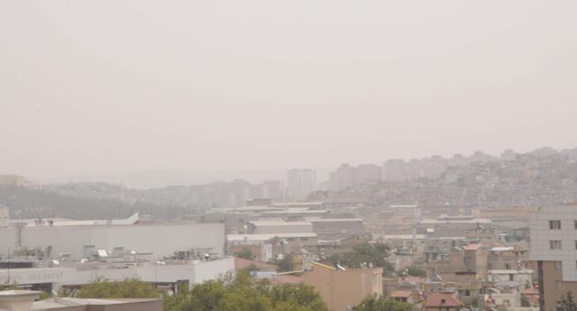 Toz bulutu etkili oldu
