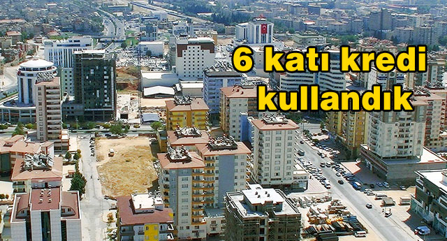 Nakdi kredilerde en yüksek il Gaziantep