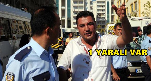 SERVİS ŞOFÖRLERİ KAVGA ETTİ