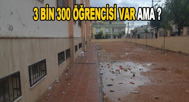 Bu okul temizlenemiyor