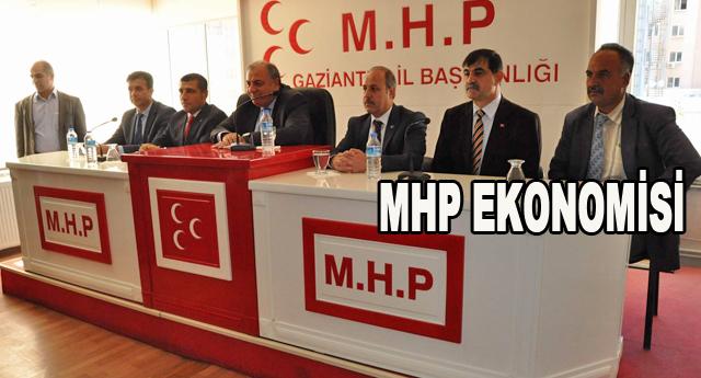 MHP, 10 şehirde yeni ekonomi modelini anlatacak