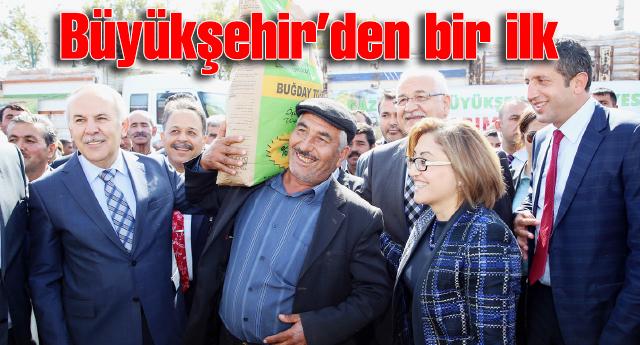 TARIMDA AVRUPA'NIN 1'NCİ ÜLKESİ OLDUK