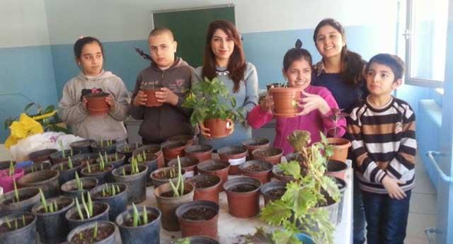 Toprak ve bitkiyle rehabilite