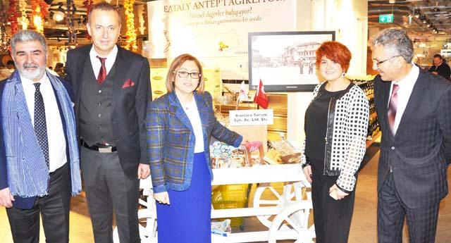 Gastronomi turları için Gaziantep hazır